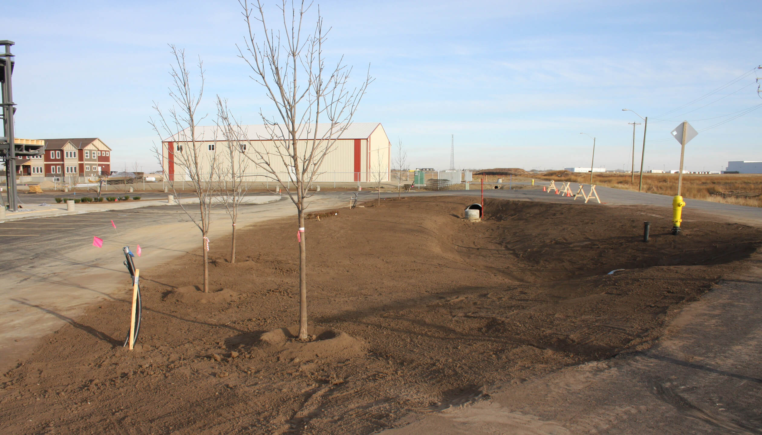 commercial property landscaping edmonton