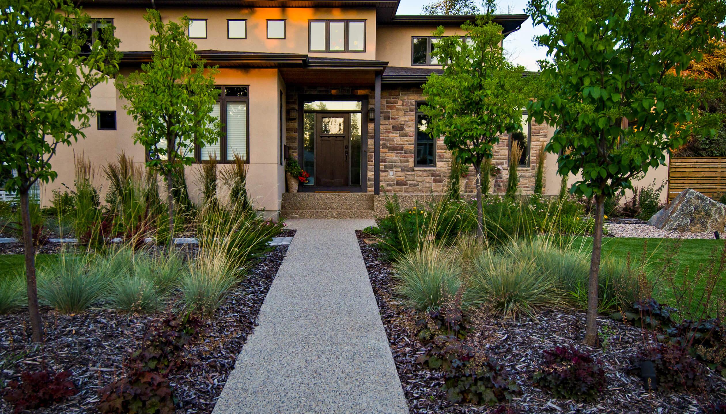 home landscaping edmonton