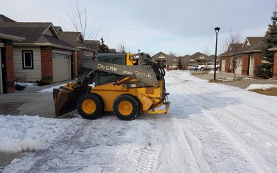 Edmonton Winter Maintenance With GDB Landscaping