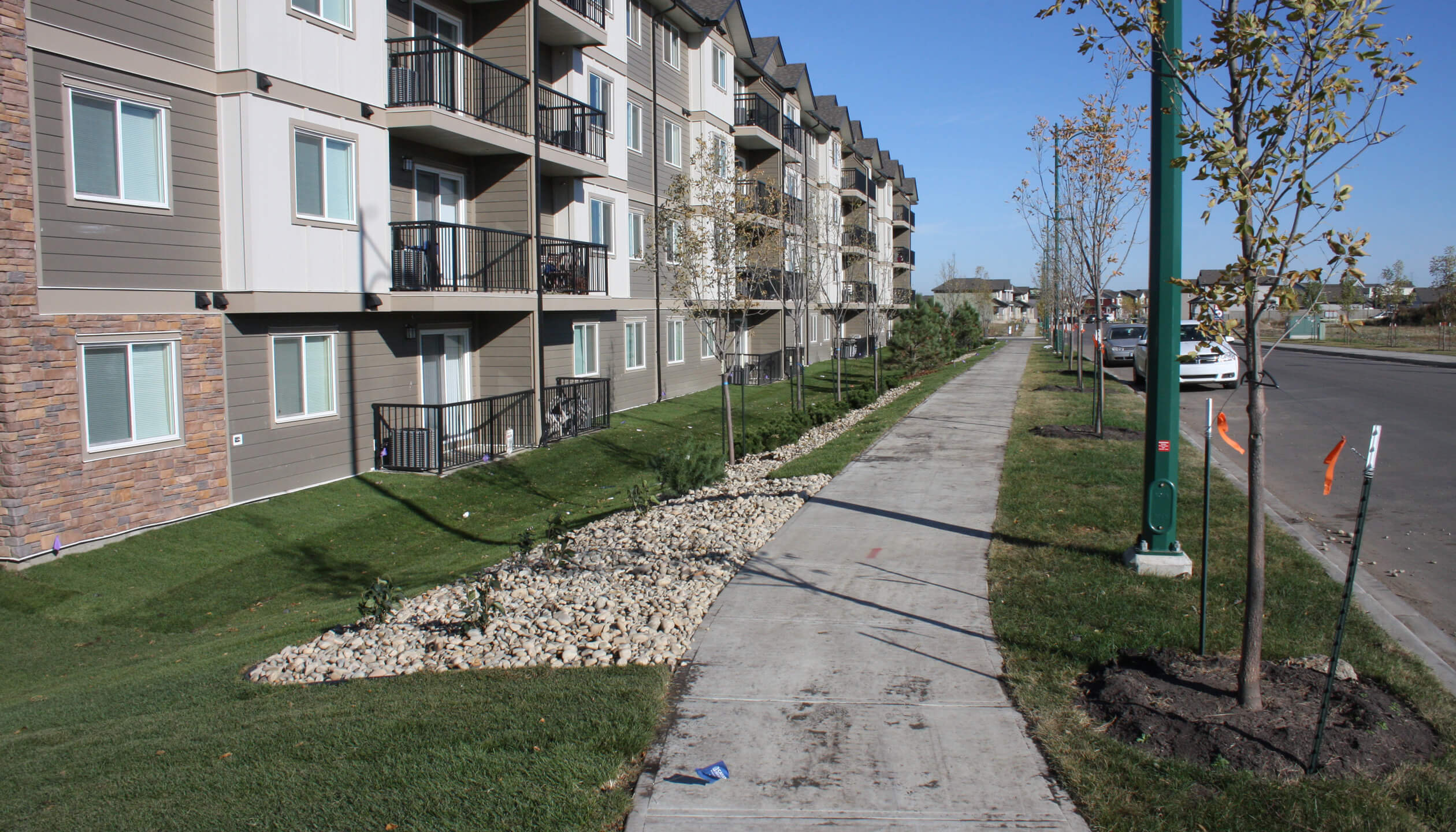 new commercial landscaping edmonton