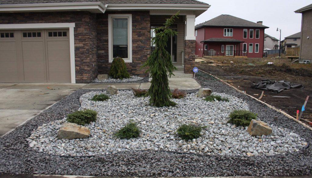 spring landscaping edmonton