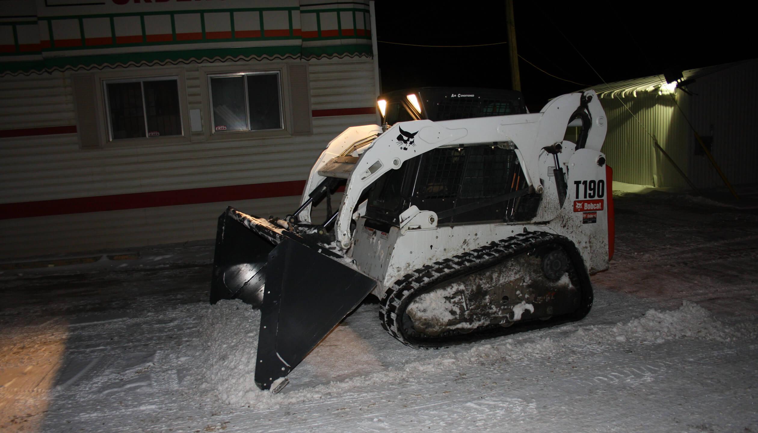 parking lot snow removal edmonton